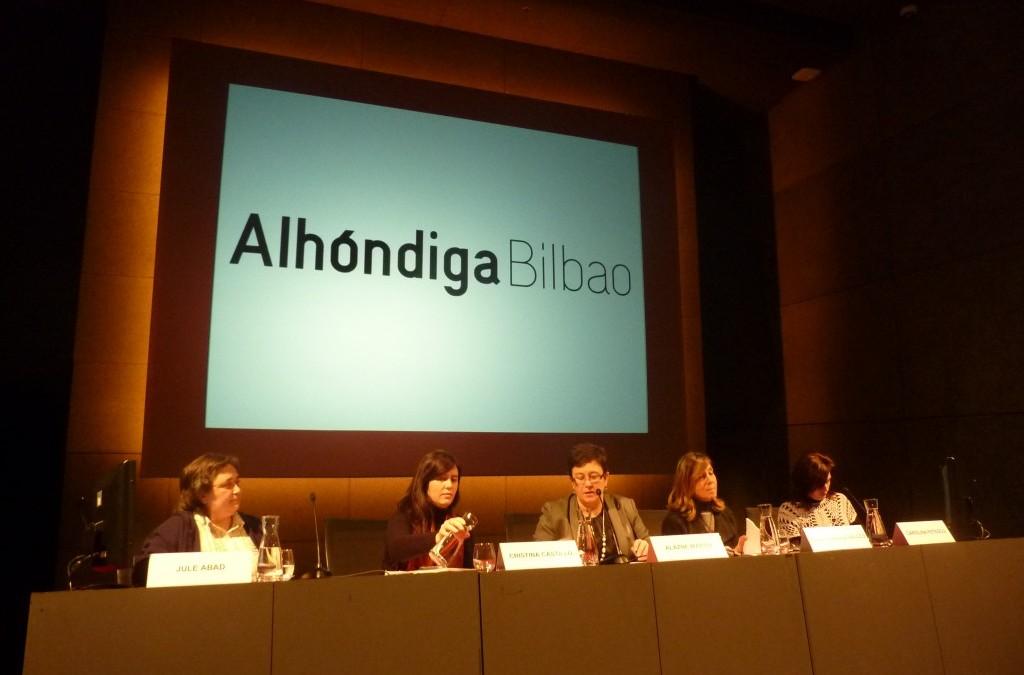 Mediateka Alhóndiga con la LF