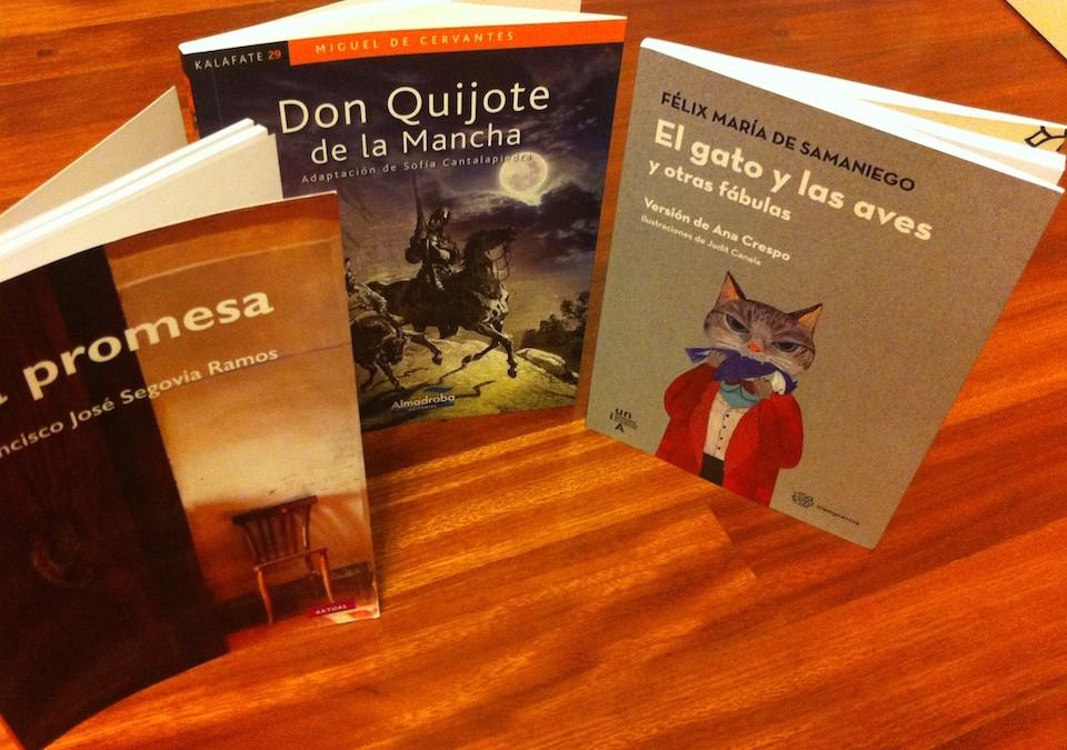 Tenemos nuevos libros, llegan nuevos autores