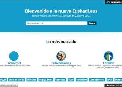 EUSKADI.EUS Gobierno Vasco / Eusko Jaurlaritza