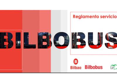 AYUNTAMIENTO DE BILBAO / BILBOKO UDALA Reglamento servicio Bilbobus