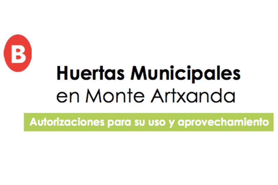 AYUNTAMIENTO BILBAO/BILBOKO UDALA Bases reguladoras uso huertas municipales