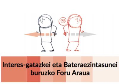 DIPUTACIÓN FORAL DE BIZKAIA / BIZKAIKO FORU ALDUNDIA Norma Foral de Incompatibilidades y conflictos de interés