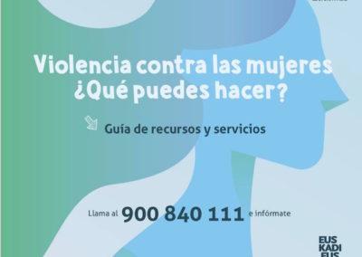 GOBIERNO VASCO. Guías servicios y recursos. Violencia contra las mujeres