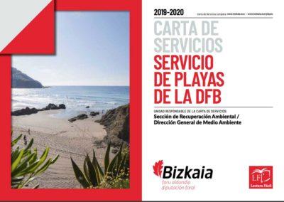 DIPUTACIÓN FORAL DE BIZKAIA/BIZKAIKO FORU ALDUNDIA. Cartas de servicio.