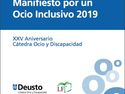UNIVERSIDAD DE DEUSTO. Manifiesto por un ocio inclusivo. 2019.