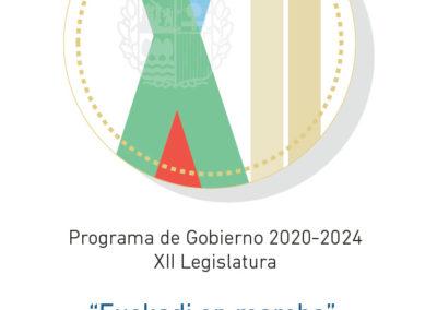 EUSKO JAURLARITZA / GOBIERNO VASCO Programa de Gobierno 2020-24